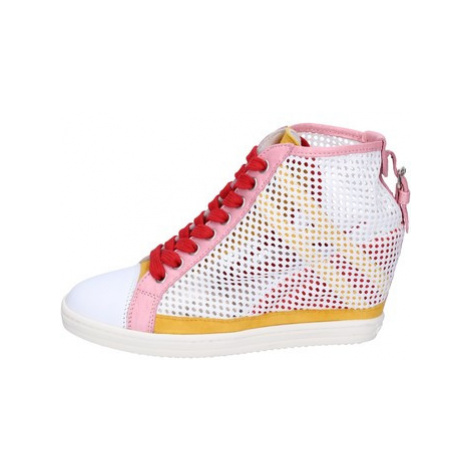 Hogan Sneakers Paillettes Tessuto Bílá