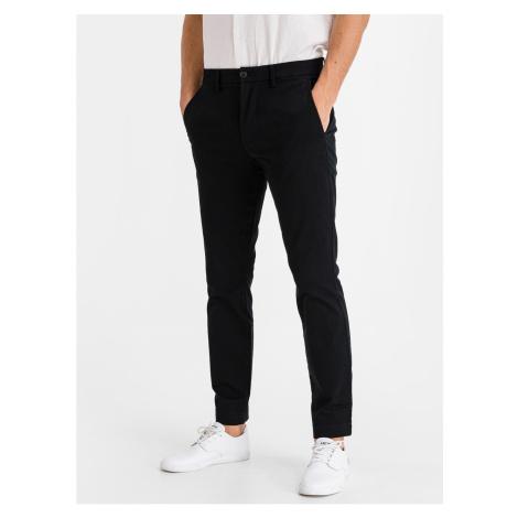 GAP Kalhoty v-essential khaki skinny fit