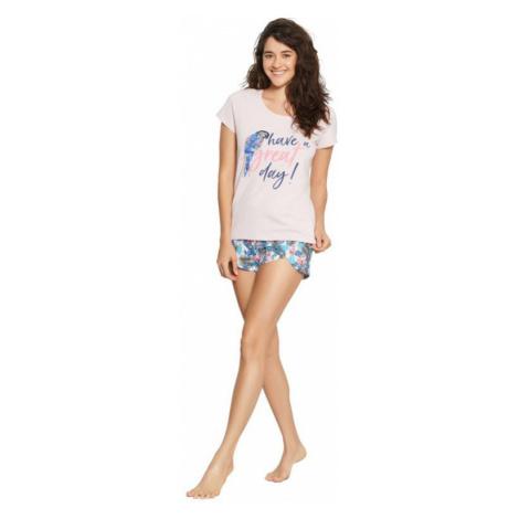 Dámské pyžamo Henderson 38051 růžové   růžová