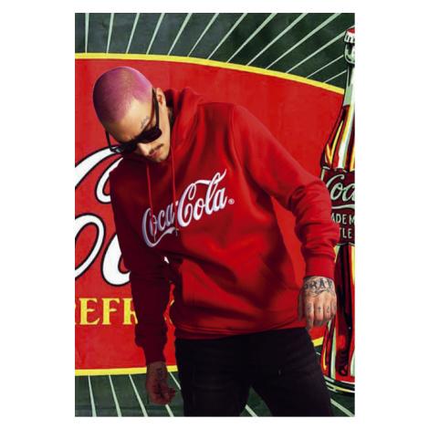 Mr. Tee Coca Cola Classic Hoody red