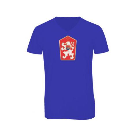 Pánské triko s výstřihem do V ČSSR