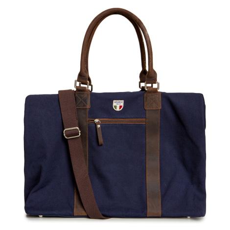 Cestovní taška Dolomite CANVAS WEEKENDER XL 60 tmavomodrá