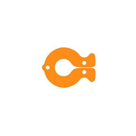 Dena plovák RYBA, oranžová