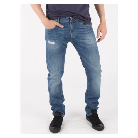 Džíny Trussardi 370 Extra Slim Seasonal - Denim Modrá