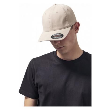 Flexfit Garment Washed Cotton Dad Hat - khaki Urban Classics