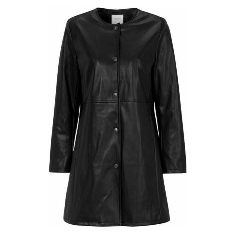 Kabát z imitace kůže Cellbes