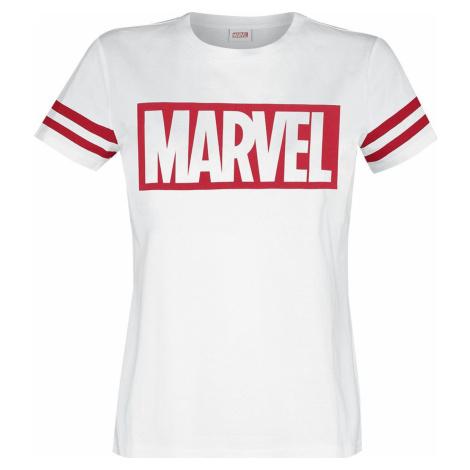 Marvel Logo Dámské tričko bílá