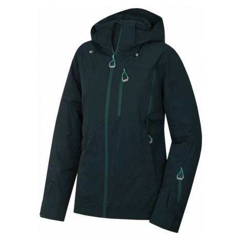 Dámská bunda HUSKY Montry L tmavě zelená