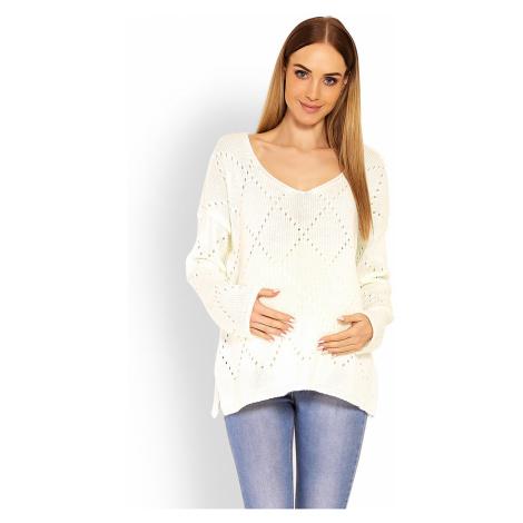 Těhotenský svetr model 114546 PeeKaBoo uniwersalny