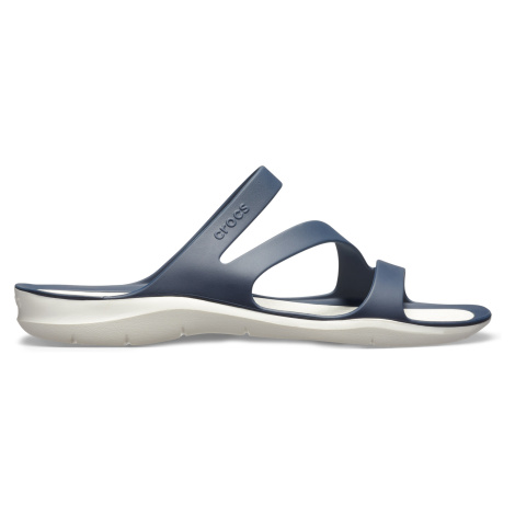 Crocs Swiftwater Sandal W Navy/White W7