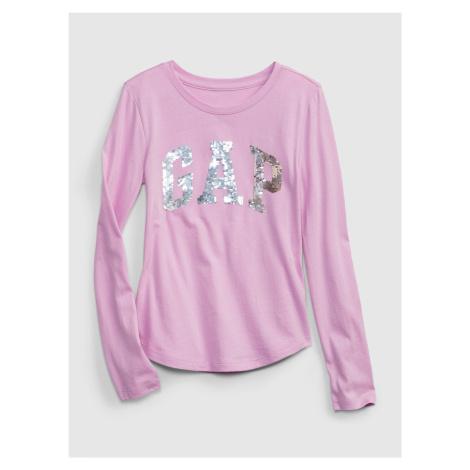 GAP fialové dívčí tričko