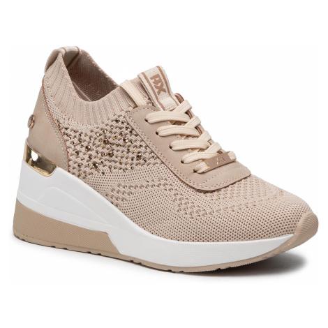 Sneakersy XTI - 42593 Beige