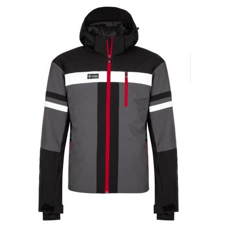 KILPI Pánská lyžařská bunda PONTE-M LM0028KIDGY Tmavě šedá