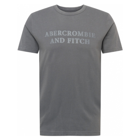 Abercrombie & Fitch Tričko šedá / tmavě šedá