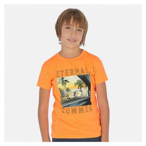 Chlapecké triko MAYORAL 6063 | oranžová