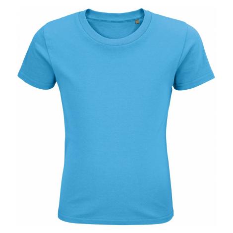 SOLS Dětské triko PIONEER KIDS 03578321 Aqua SOL'S