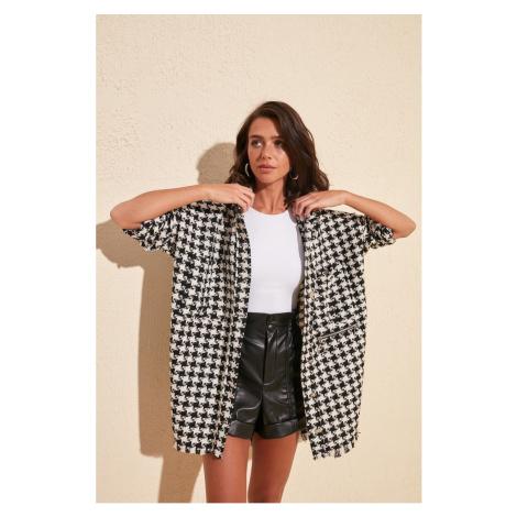 Women's coat Trendyol Patterned