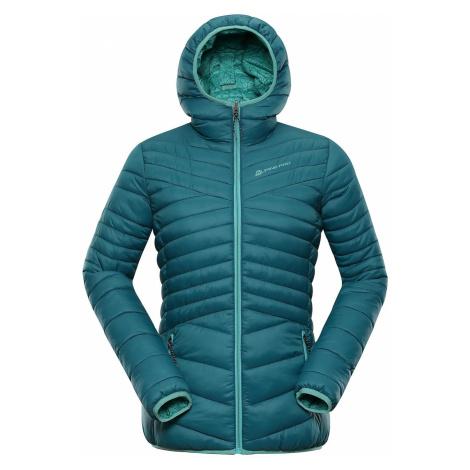 Dámská oboustranná bunda Alpine Pro MUNSRA 5 - zelená