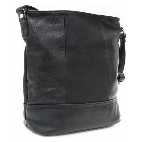 Černá elegantní větší dámská kabelka Itzel Tapple