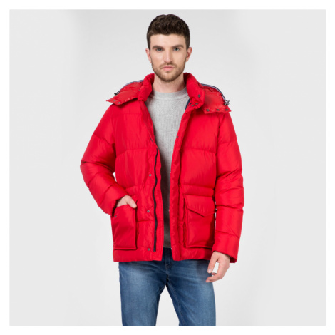 Tommy Hilfiger pánská červená bunda bomber