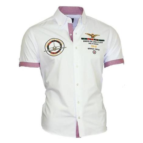 BINDER DE LUXE košile pánská 82609 krátký rukáv