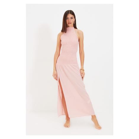 Trendyol Dried Rose Gipe Beach Dress