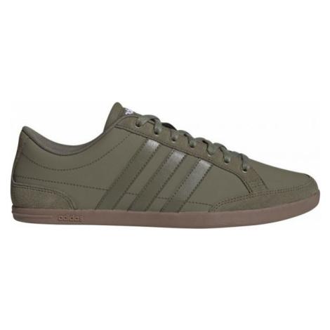 adidas CAFLAIRE tmavě zelená - Pánská volnočasová obuv