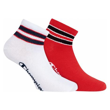 Unisex ponožky Champion 9LP 2PACK MIX | vzorované