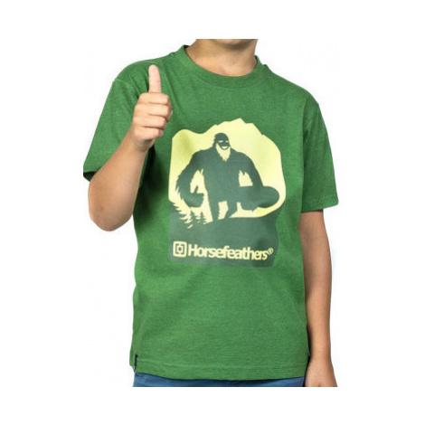 Dětské tričko Horsefeathers Yeti Kids heather forest