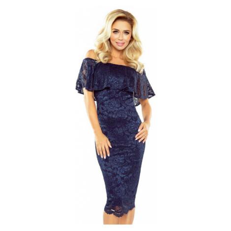 Dámské šaty Morimia 013-4 | tmavě modrá