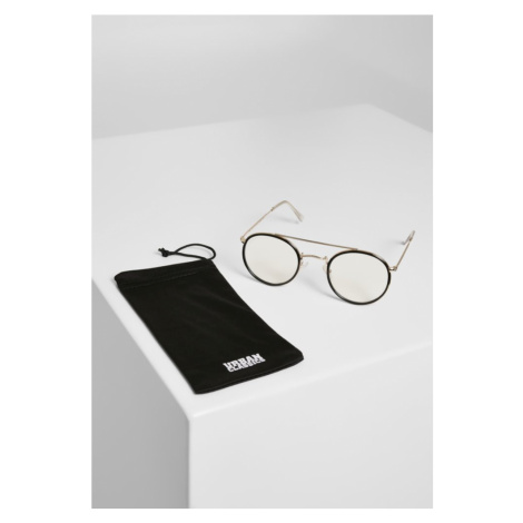 Sunglasses Palermo - transparent/gold Urban Classics