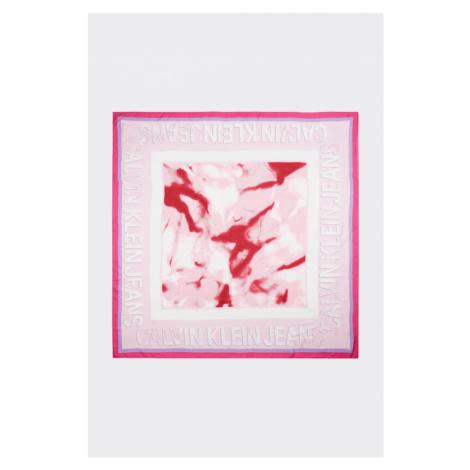 Calvin Klein dámský šátek - růžový