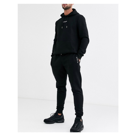 River Island joggers in black
