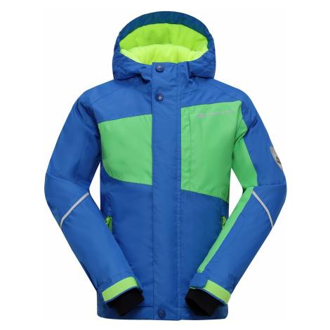 Dětská bunda Alpine Pro BAUDOINO - modrá