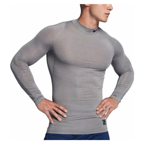 Termo tričko Nike Pro Top Šedá