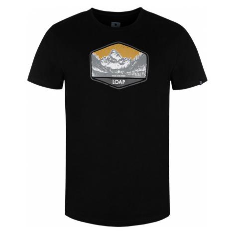 LOAP BOLTER Pánské tričko CLM2030V21G černá