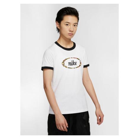 Sportswear Femme Ringer Triko Nike Bílá