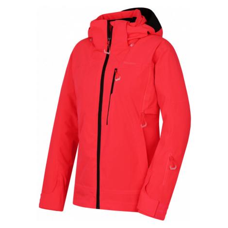 Dámská lyžařská bunda HUSKY Montry L neonově růžová