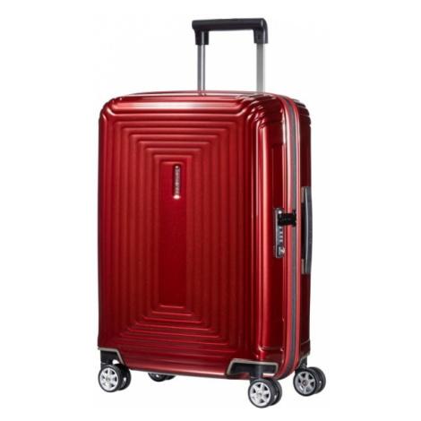Samsonite Kabinový cestovní kufr Neopulse Spinner 44D 38 l - červená