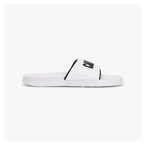 Calvin Klein dámské bílé pantofle