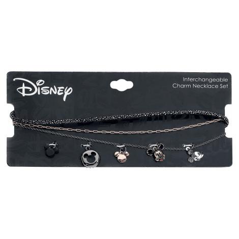 Mickey & Minnie Mouse Multi Charm Choker Set Náhrdelník vícebarevný