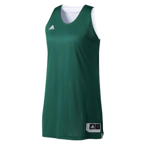 Dámský basketbalový dres W Rev Crzy Ex J Zelená / Bílá Adidas