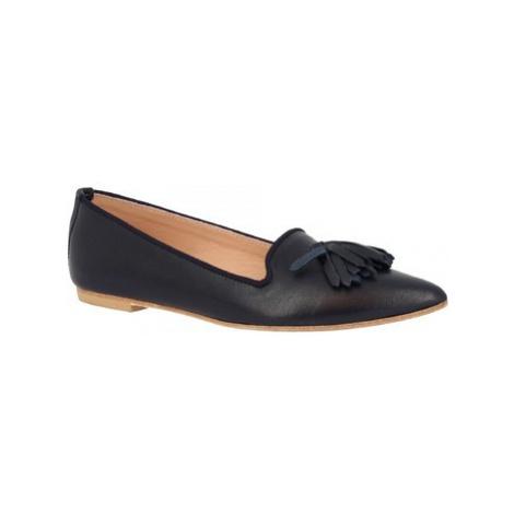 Leonardo Shoes 117-20 NAPPA BLU Modrá