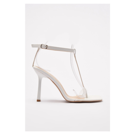 Trendyol White Women's Classic Heeled Shoes