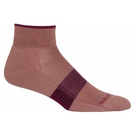 Dámské ponožky ICEBREAKER Wmns Multisport Light Mini, Suede/Brazilwood (vzorek) Icebreaker Merino