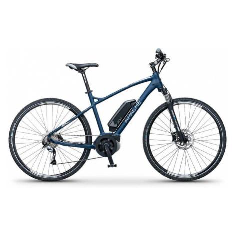 "Elektrokolo krosové Apache Matto Bosch Active 400Wh modrá, 19"" Apache Bicycles"