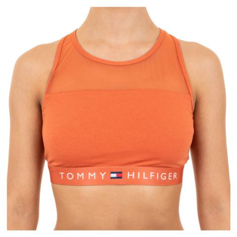 Dámská podprsenka Tommy Hilfiger oranžová (UW0UW00012 887)