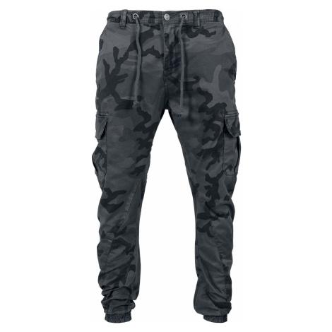 Urban Classics Cargo Jogging Pants Tepláky tmavě maskáčová