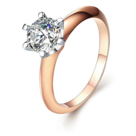 Linda's Jewelry Stříbrný prsten Zářivá Láska Ag 925/1000 IPR079 Velikost: 53