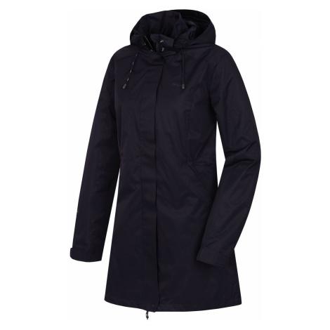 Husky Nut L, černofialová Dámský hardshellový kabát